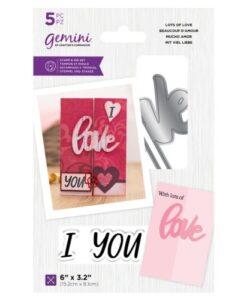 Gemini Stamp & Die - Lots of Love