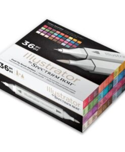 Spectrum Noir Illustrator 36pc Box - Colour Essentails