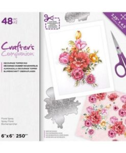CC Decoupage Pad - Floral Spray