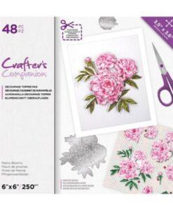CC Decoupage Pad - Peony Blooms