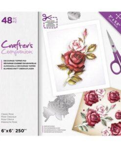 CC Decoupage Pad - Classic Rose