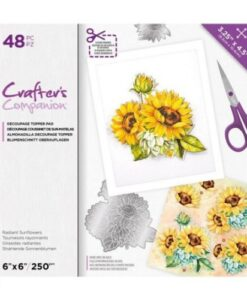 CC Decoupage Pad - Radiant Sunflowers