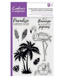 CC - Clearstamp - Flamingo Paradise