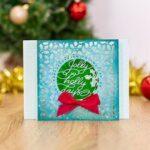Gemini Verwisselbare Snijmal - Christmas Holly Frame