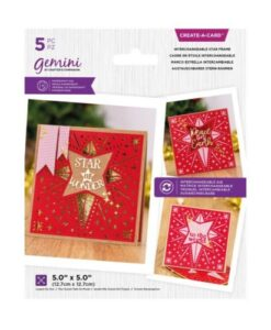 Gemini Verwisselbare Snijmal - Christmas Star Frame