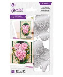 Gemini Elements Die - Peony Blooms