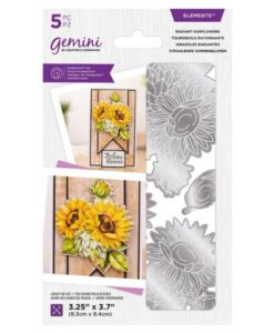 Gemini Elements Die - Radiant Sunflowers