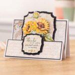 Gemini Elements Die - Radiant Sunflowers