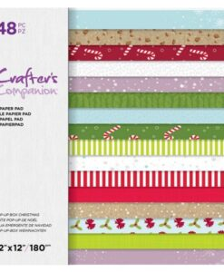 Crafter's Companion – Pop Up Box Christmas 30×30 cm Paperpad