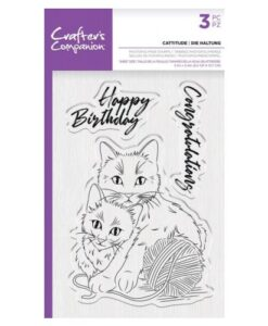 CC - Clearstamp - Cattitude