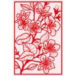 Gemini Dubbelzijdige Snijmal – Cherry Blossom Window