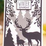 Gemini Dubbelzijdige Snijmal – Frosted Woodland