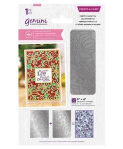 Gemini Dubbelzijdige Snijmal – Pretty Poinsettia