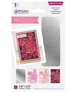 Gemini Dubbelzijdige Snijmal – Rose Window