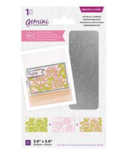 Gemini Dubbelzijdige Snijmal – Water Lily Window
