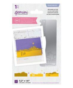 Gemini Layerable Edge'able - Bethlehem Skyline- Dubbelzijdige Snijmal