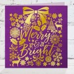 Gemini Foil Stamp-Die - Merry and Bright