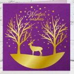 Gemini Foil Stamp-Die - Winter Wishes