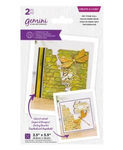 Gemini Create-a-Card - Dry Stone Wall