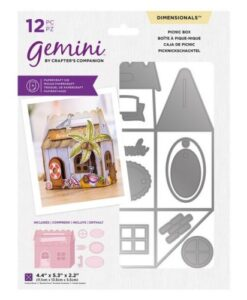Gemini Dimensional Die - Picknic Box