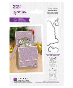 Gemini Stamp & Die - Away In A Manger