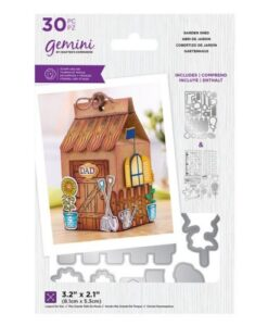 Decorative Box Stamp & Die - Garden Shed