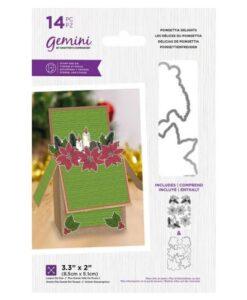 Gemini Stamp & Die - Poinsettia Delight