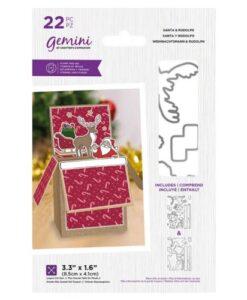 Gemini Stamp & Die - Santa & Rudolph