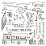Gemini Staycation Stamp & Die - Road Trip