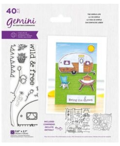 Gemini Staycation Stamp & Die - The Simple Life