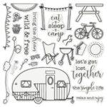 Gemini Staycation Stamp & Die - The Simple Life