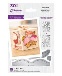 Decorative Box Stamp & Die - Sweet Cupcake