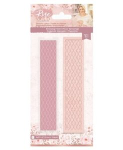 Rose Gold Embossing Folder - Diamond Lattice