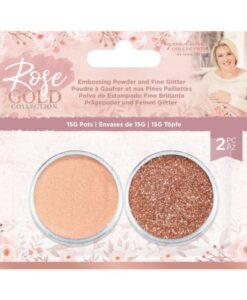 Rose Gold - Embossing Poeder & Fijne Glitter