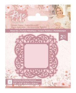 Rose Gold Metal Die - Ornate Frame