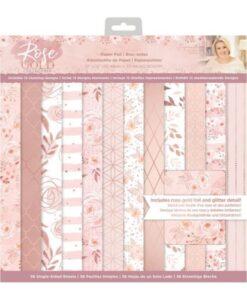 Rose Gold - Paper Pad 30 x 30 cm