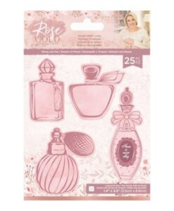 Rose Gold Stamp & Die - Scent with Love