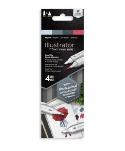 Spectrum Noir Illustrator - Stylish (4pc)