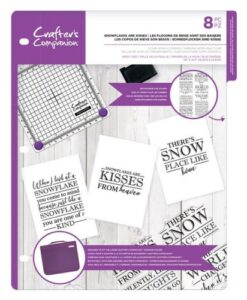 CC - Clearstamp - Snowflakes are Kisses