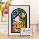 Crafter's Companion - Arched Window Die-Cut Card & Envelop