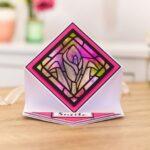 Crafter's Companion - Diamond Die-Cut Card & Envelop