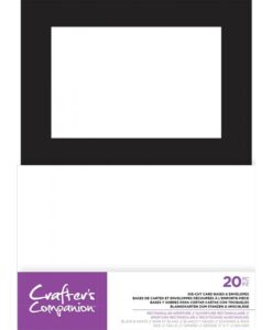 Crafter's Companion - Rectangle Die-Cut Card & Envelop