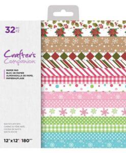 CC Paper Pad 30 x 30 cm – Santa's Kitchen