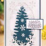 Gemini Dubbelzijdige Snijmal – O' Christmas Tree
