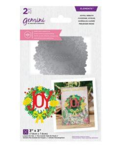 Gemini Dubbelzijdige Snijmal - Joyful Wreath