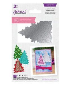 Gemini Dubbelzijdige Snijmal - O Christmas Tree