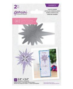Gemini Dubbelzijdige Snijmal - Star of Wonder