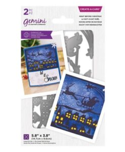 Gemini Christmas Create-a-Card – Night Before Christmas