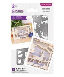 Gemini Christmas Create-a-Card – Nordic Reindeer