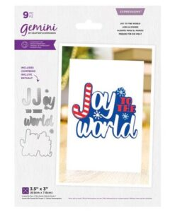 Gemini Expressions Die – Joy To The World